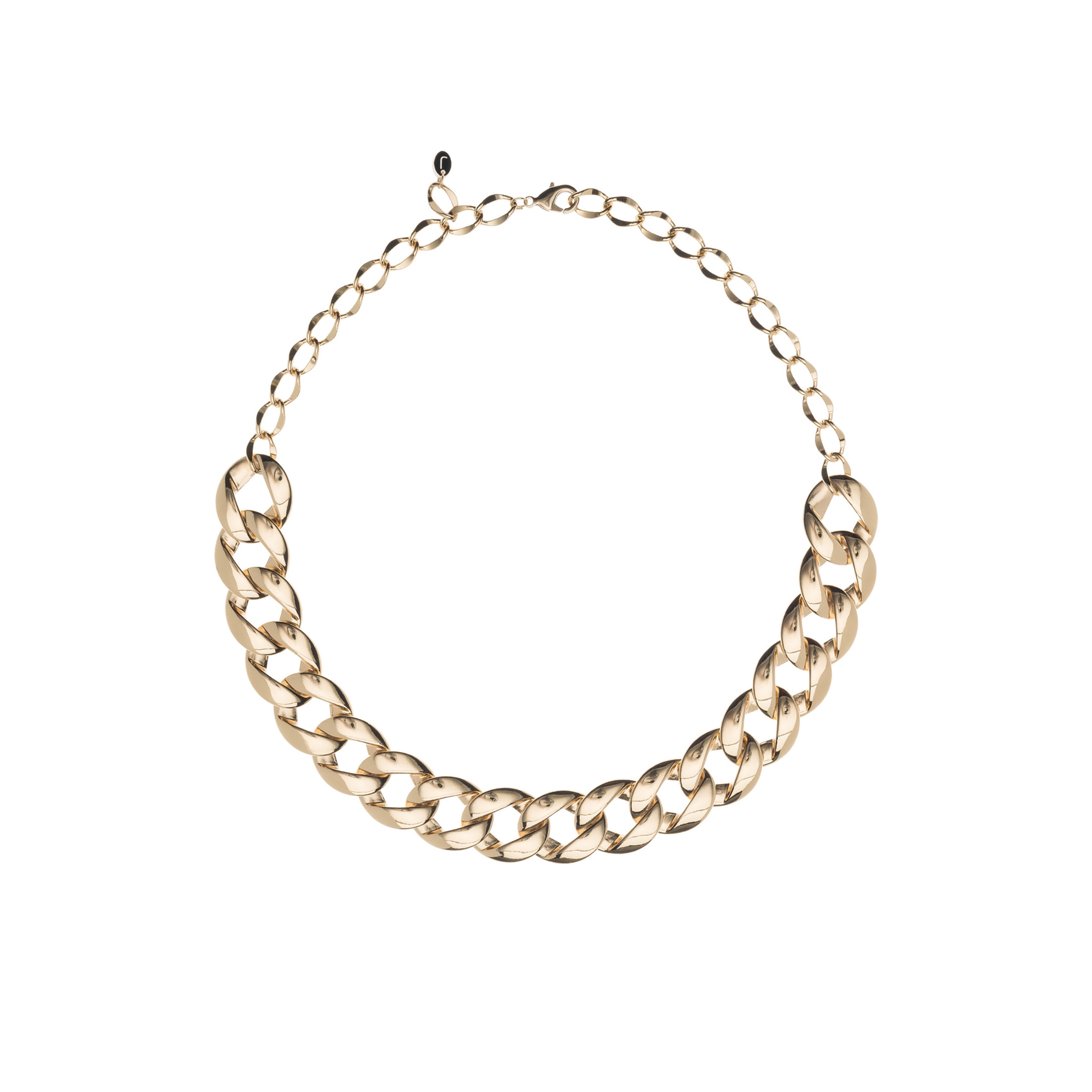 twisted rod gold lennse isabel necklace product